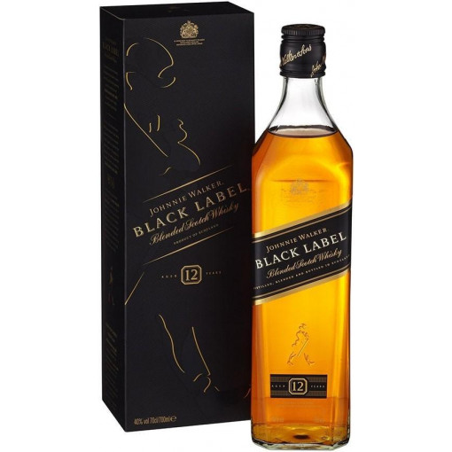 Johnnie Walker Black Label Whisky, 70 cl