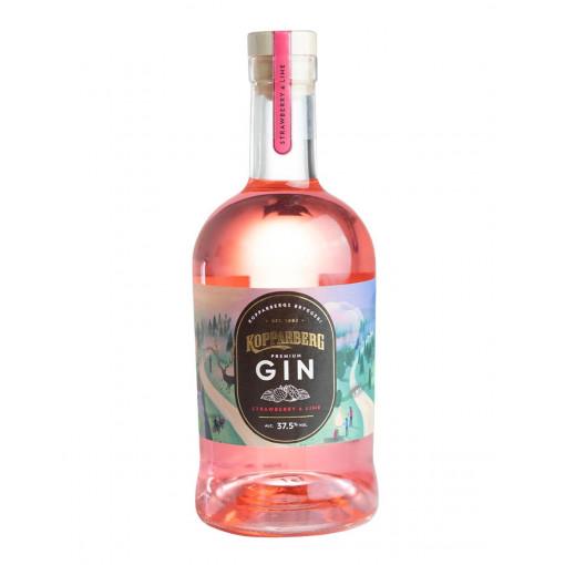 Kopparberg Strawberry & Lime Premium Gin, 70 cl